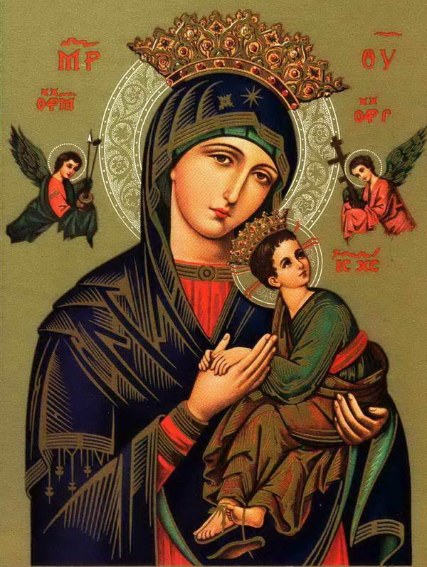 МОЛИТВА - Молитви до чудотворного образу Матері Божої Неустанної Помочі