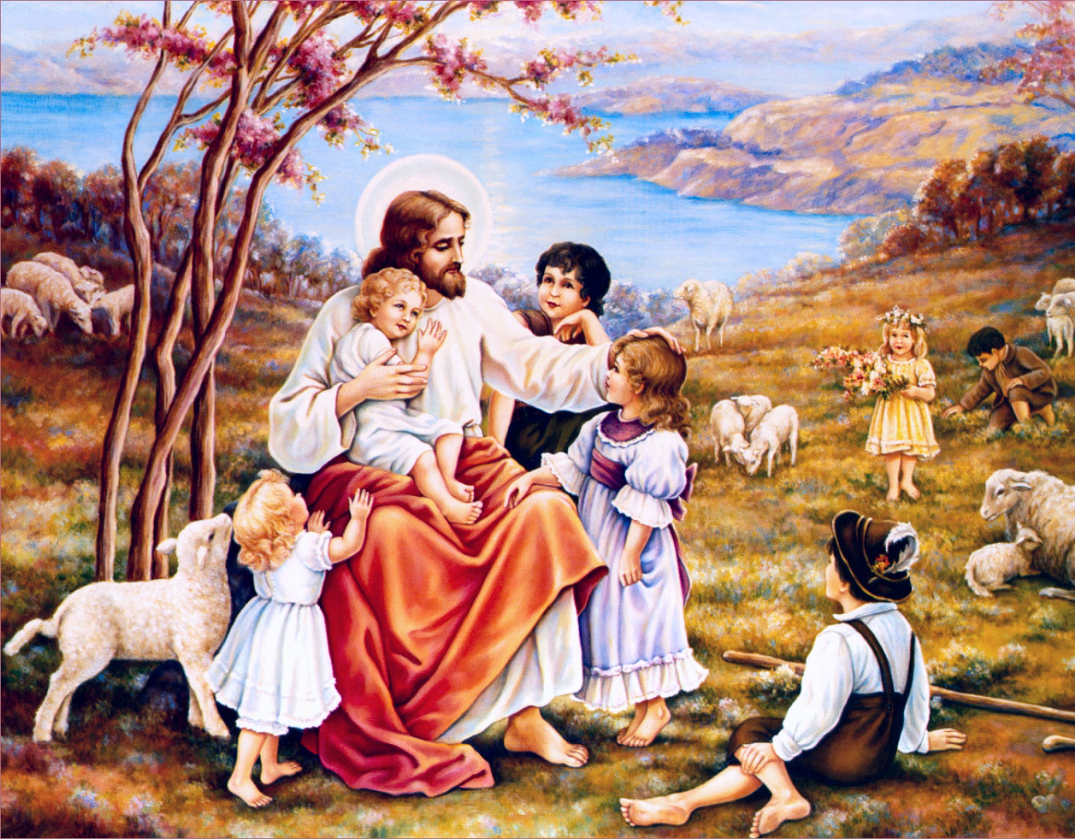 Библейские сюжеты на открытках